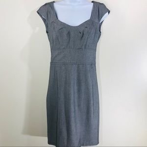 XOXO Gray Herringbone Dress Size 3/4